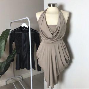 Dress + peplum top